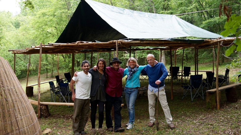 "The ""Builders"": how a few people transformed the Bosco dell'Incontro into a venue for history."